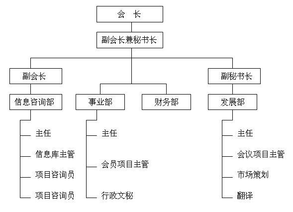 实习单位组织结构