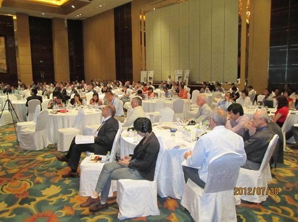 国际锌技术交流周锌冶炼及回收技术大会会场1